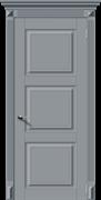 Межкомнатная дверь Эмаль СИМФОНИЯ-Н глухая серая