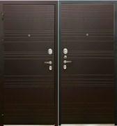 Входная металлическая дверь в квартиру SD PROF-36 ФОРТУНА Венге - со звукоизоляцией