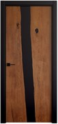 Звукоизоляционная Межкомнатная дверь Слэб-декор №4 КЕНАЙ