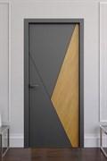 Звукоизоляционная Межкомнатная дверь Слэб-декор №6 ВИК