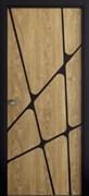 Звукоизоляционная Межкомнатная дверь Слэб-декор №12 ТИРА