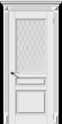 Влагостойкая Межкомнатная дверь Эмаль ВЕРСАЛЬ-Н со стеклом