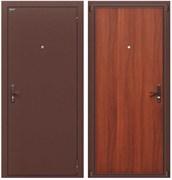 Входная металлическая дверь Билд Антик Медь/М-11 (ИталОрех) в наличии