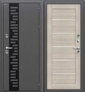 Входная металлическая дверь Уличная Термо 222 Антик Серебро/Cappuccino Veralinga в наличии