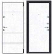 Входная металлическая дверь Porta M 8.П50 Snow Art/Snow Art склад в наличии