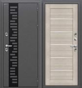 Входная металлическая дверь Уличная Термо 222 Антик Серебро/Cappuccino Veralinga склад в наличии