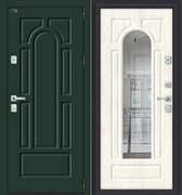 Дверь входная металлическая «Porta M-3 55.56» Green Stark/Nordic Oak склад в наличии