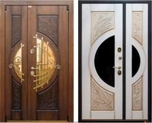 Входная металлическая дверь Уличная STR-22 ковка+патина склад в наличии