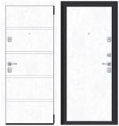 Входная металлическая дверь Porta M 8.П50 Snow Art/Snow Art - со звукоизоляцией склад в наличии