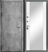 Входная металлическая дверь в квартиру МД-51 с зеркалом