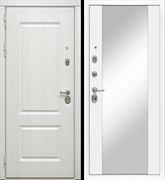 Входная металлическая дверь в квартиру МД-44 с зеркалом