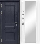 Входная металлическая дверь в квартиру МД-45 с зеркалом