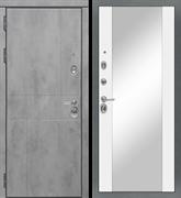 Входная металлическая дверь в квартиру МД-48 с зеркалом