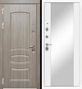 Входная металлическая дверь в квартиру МД-42 с зеркалом