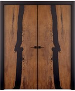 Дверь распашная двустворчатая Sleb decor №4