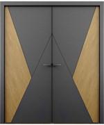 Дверь распашная двустворчатая Sleb decor №6
