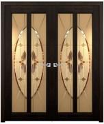 Дверь распашная двустворчатая DANIELLA сосна