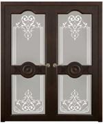 Дверь распашная двустворчатая ERIKA дуб, сосна