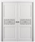 Дверь распашная двустворчатая ADEL AZHUR дуб, сосна