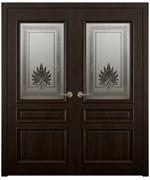 Дверь распашная двустворчатая MARON дуб, сосна