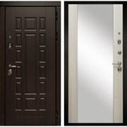 Входная металлическая дверь в квартиру МД-38 с зеркалом