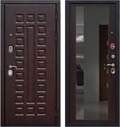 Входная металлическая дверь в квартиру SD PROF-5 СЕНАТОР ЗЕРКАЛО