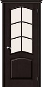 Межкомнатная дверь М7  Т-06 (Темный Лак)/Сатинато