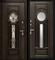 Входная металлическая дверь в дом уличная Vizantiya - фото 10131