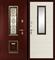 Входная металлическая дверь в дом уличная K-04 - фото 10137
